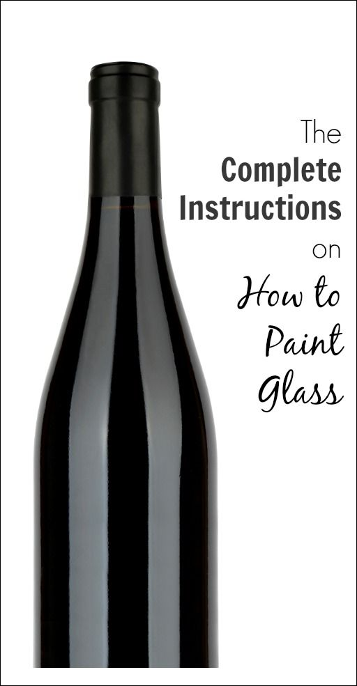 If you would like to paint glass, whether it's glassware, a window, a vase or a…