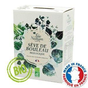 Sève de bouleau Bio 2 litres