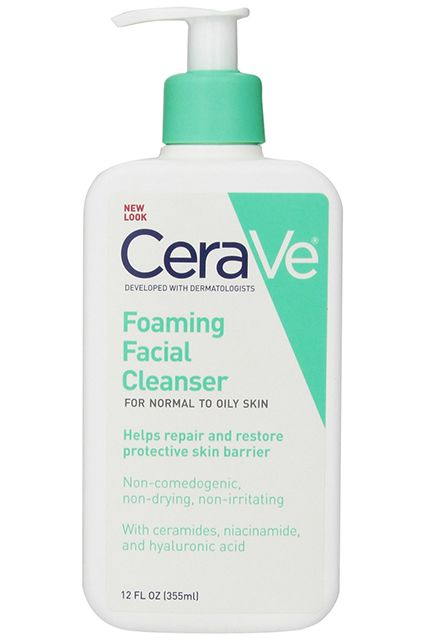 Excellent for sensitive skin because of its fragrance-free formula, this generously sized foaming cleanser is great for oily skin and won't leave you with that unpleasant, tight, dry feeling. CeraVe Foaming Facial Cleanser, $10.13, available at Amazon.com.