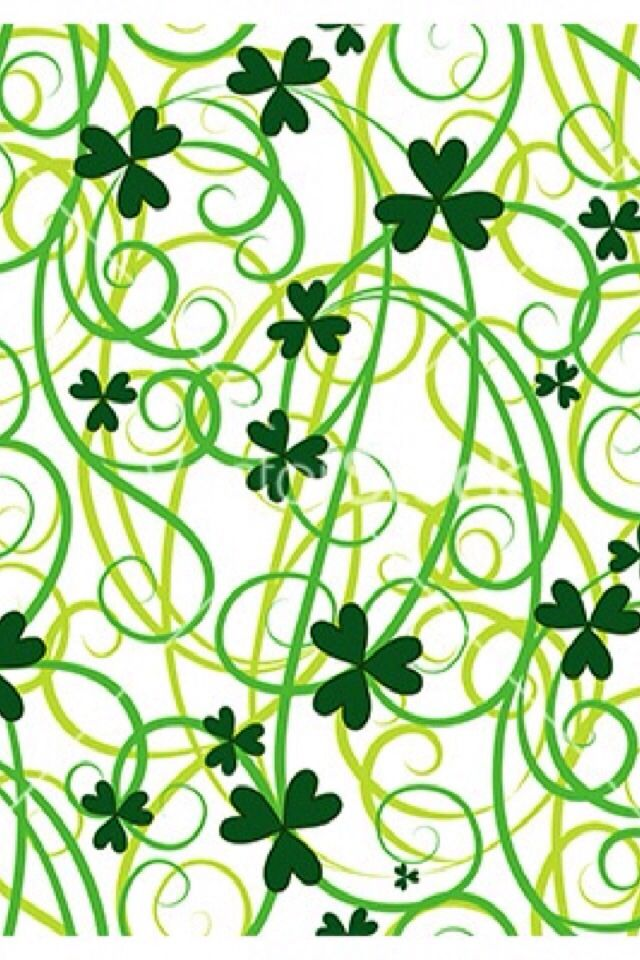 Seamless Shamrock Leaves Vector Image On VectorStock