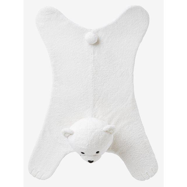 Image Tappeto in pelliccia sintetica Il Mio Orso Polare VERTBAUDET