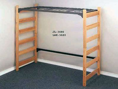 Free College Dorm Loft Bed Plans Woodworking Projects