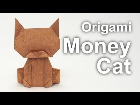 ▶ Origami Money Cat v2 (Jo Nakashima) - YouTube
