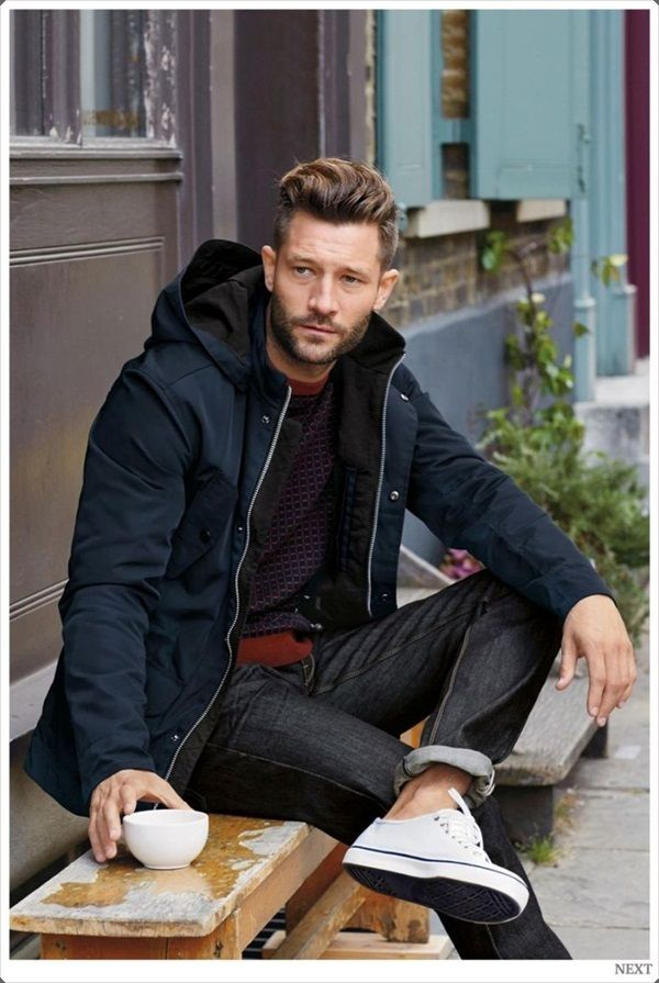 Warm yourself up with a cool winter jacket for men.