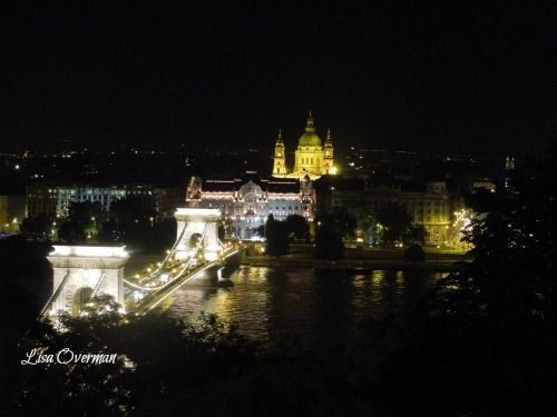 Budapest; A view from Buda Castle.