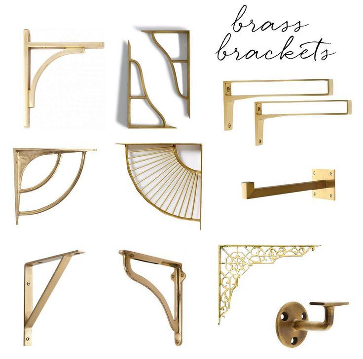 Kitchen Shelf Brackets Wood: Best 25+ Shelf Brackets Ideas On Pinterest