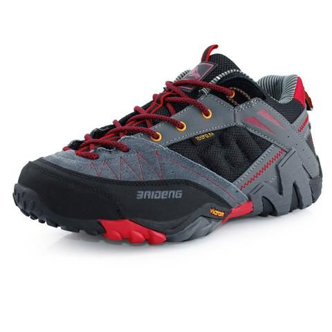 Waterproof Men's Genuine Leather Hiking Shoes New 2016 Sport Shoes Men Trail Outdoor Walking Shoes Climbing sapatos masculinos - Safaryworld.com - 4