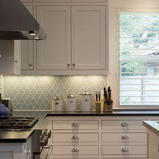 vapor arabesque glass tile - Arabesque Tile Backsplash