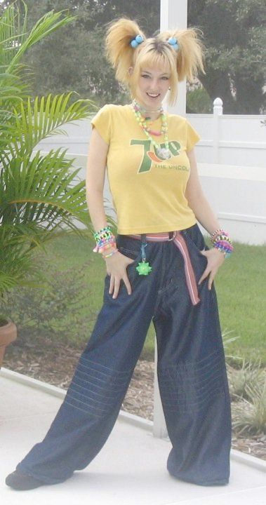 old skool pic of me, i still wear those pants proudly ;-) - zoevanwest