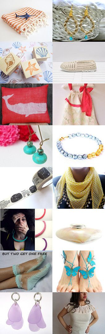 summer day by Kanae   on Etsy--Pinned with TreasuryPin.com