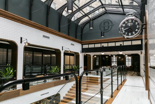 Inside Bedrock's stunning new offices in a long-vacant downtown building - Curbed Detroit