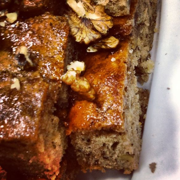 Karythopita ….. a really moist Greek Walnut Cake