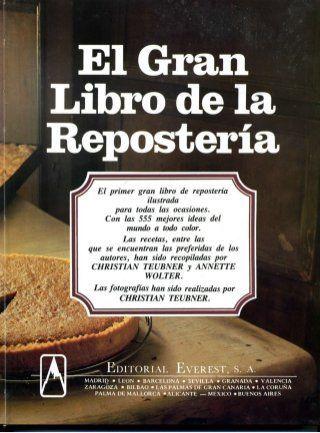 :) El gran libro de la reposteria everest | Más en https://lomejordelaweb.es/