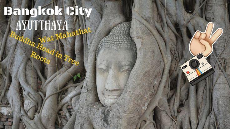 Bangkok City! | Vlog #4 Trip To AYUTTHAY (Buddha Head in Tree Roots, Wat...