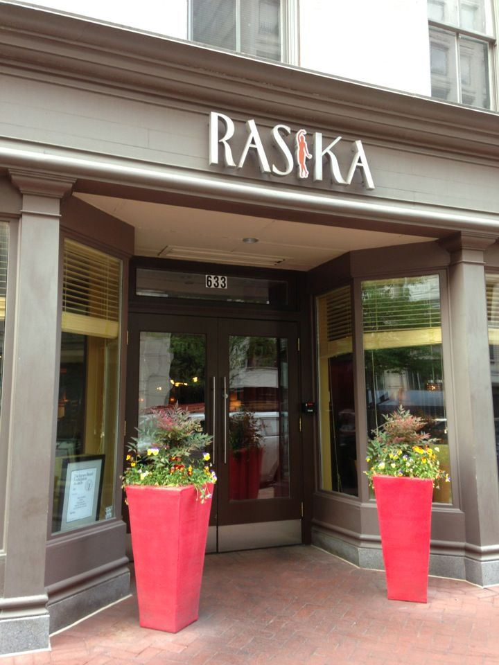 Rasika in Washington DC DC My friend