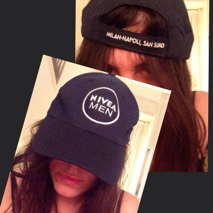 Cappellino @Nivea Maria Maximiano #gadget #merchandise