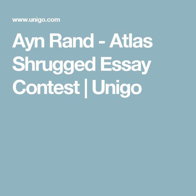 ayn rand essay contest