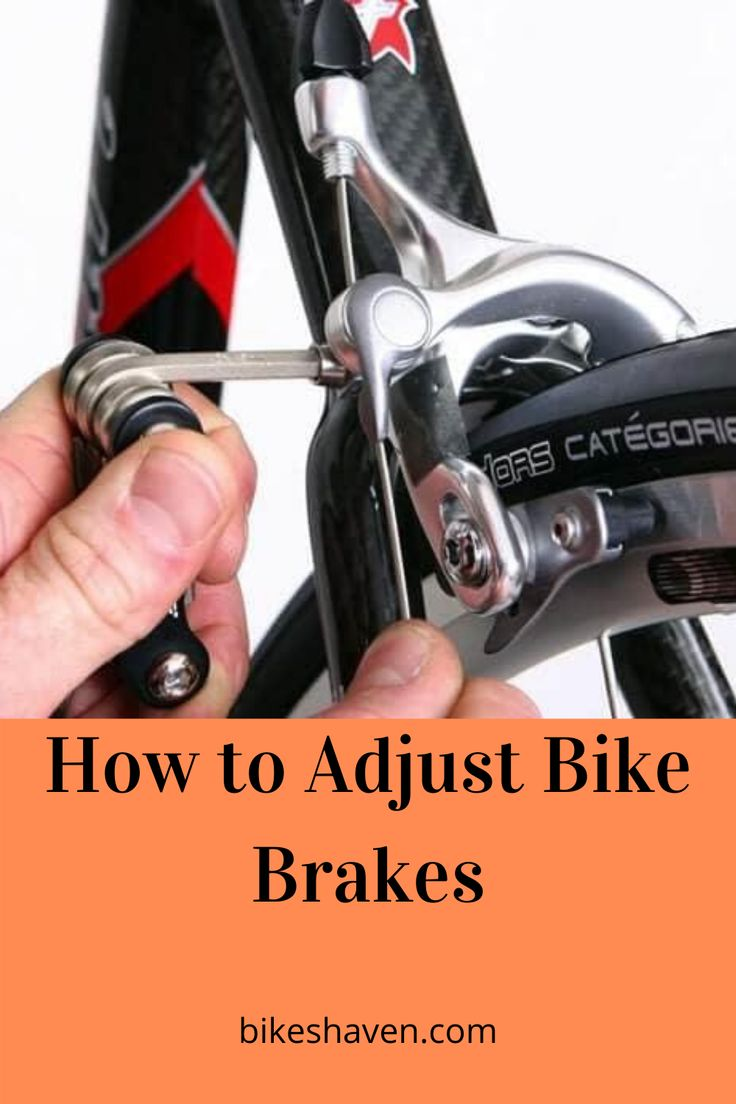 How to Adjust & Tighten Bicycle Brakes Fix Those Squeaky