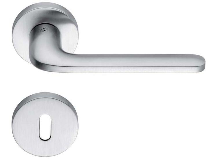 RoboQuattro | Colombo Design Door Handle ID41R | WYSTĘPUJĘ TYLKO WERSJA CHROM MAT (SATYNA) cena dla klienta 145 netto.. + rozeta 30,- + rozeta klucz