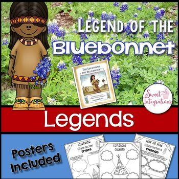 The Legend of the Bluebonnet Extension Activities