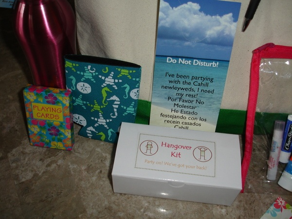 Diy Destination Wedding Gift Bags : weddingbee finally finished hangover kits wedding diy yellow img 2759 ...