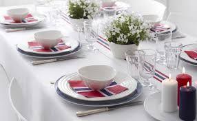 17 mai pynt bord