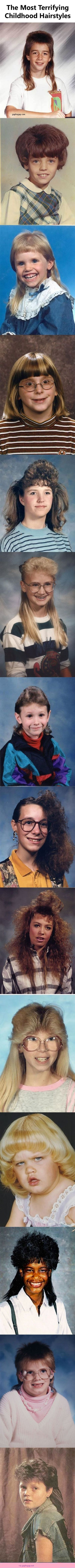 Funny Pictures: The Most Terrifying Childhood Hairstyles