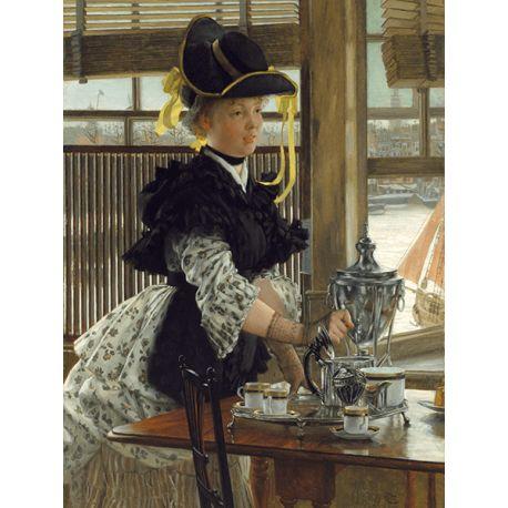Reprodukcje obrazów James Tissot Tea - Fedkolor