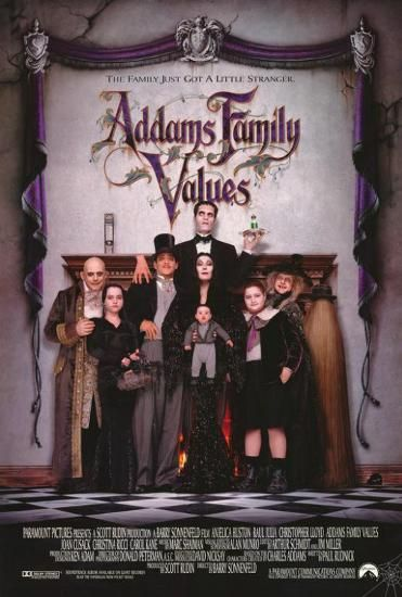 Addams Family Values Posters Allposters Com In 2021 Addams Family Movie Addams Family Values Addams Family
