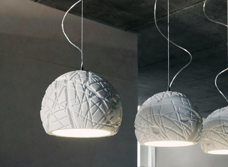 Lámpara colgante de poliuretanodiseño de pierluigi slis