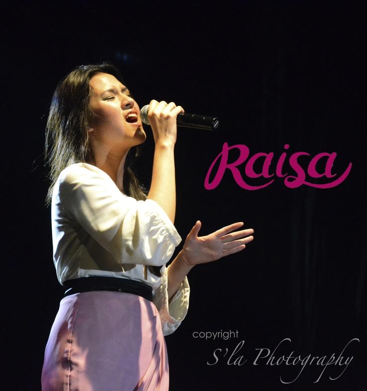 Raisa Andriana, one of Indonesian Female Singer