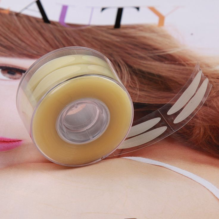 600 stks/partij L Clear Ooglid Streep Make Eyeliner Stickers Dubbel Ooglid Tape Stickers voor Maken De Ogen Groter met Eye Shadow