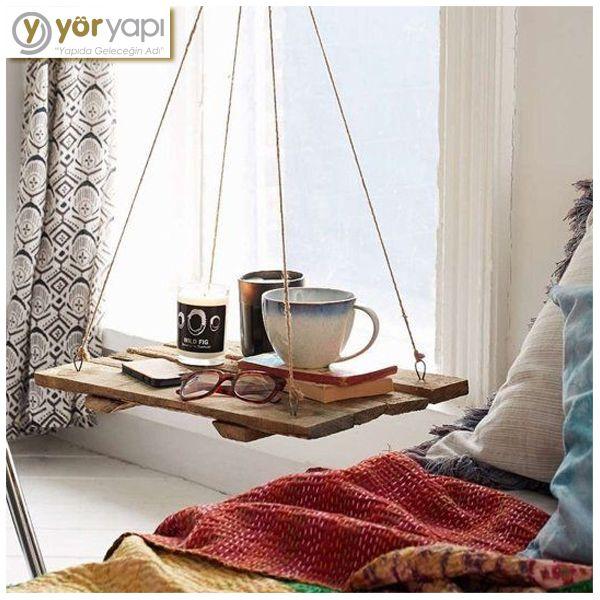 Hafta sonu planı evde dinlenmek olanlara dekorasyon önerimiz: Salıncak sehpa! #decoration #table #keyif #haftasonu #weekend #saturday #sunday #friday #homesweethome #evimevimgüzelevim #cumartesi #pazar #cuma #coffee #interrior #kahve