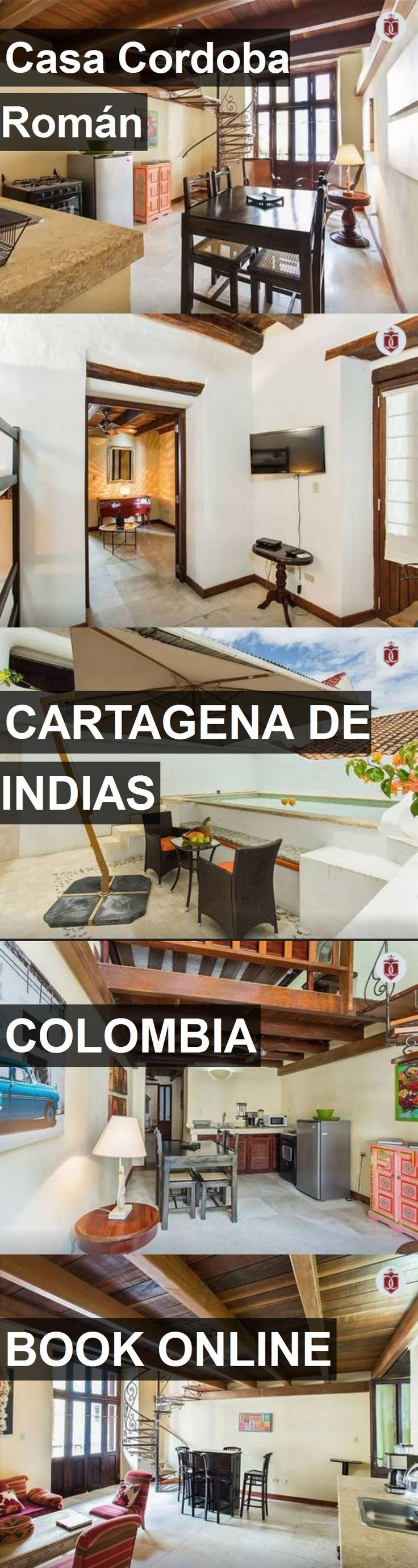 Hotel Casa Cordoba Román in Cartagena de Indias, Colombia. For more information, photos, reviews and best prices please follow the link. #Colombia #CartagenadeIndias #travel #vacation #hotel