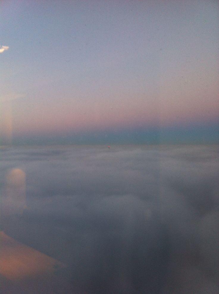 Sky Tower ponad mgłami  #Wrocław#Sky#Tower
