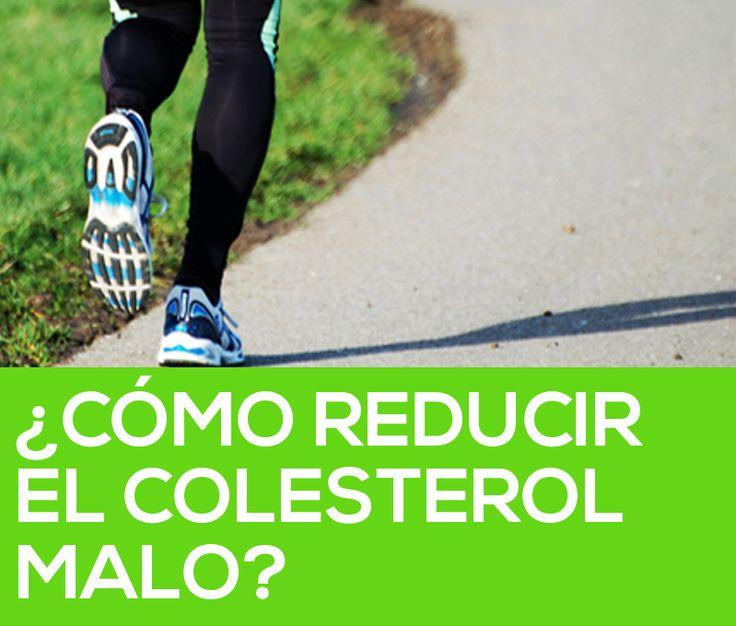 Cómo reducir el colesterol malo  #salud #vidasana #colesterol #ejercicio
