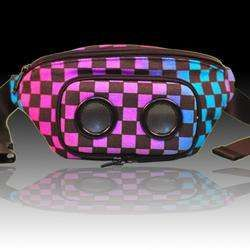 Stylish Fanny Pack Speakers  #fannypack #music #speakers #80s