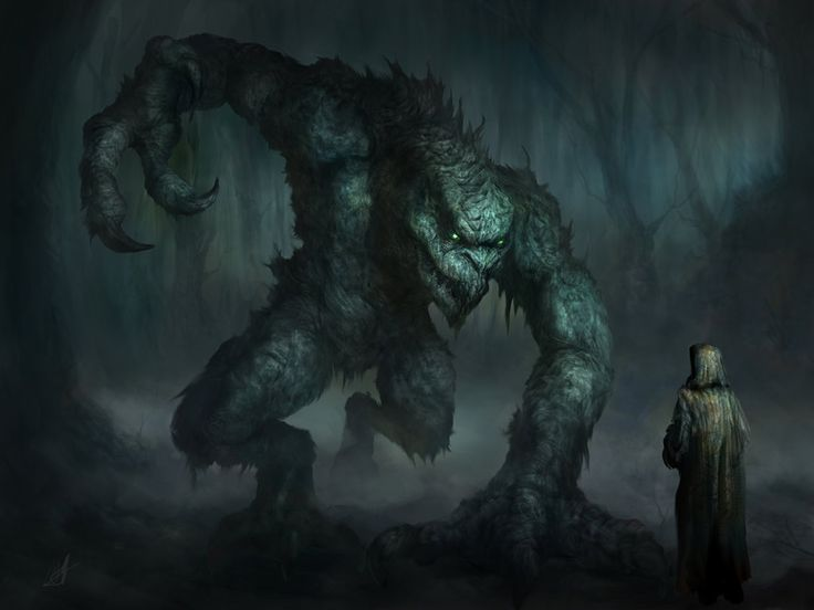 Swamp Creature finally finished... by chrisscalf on DeviantArt