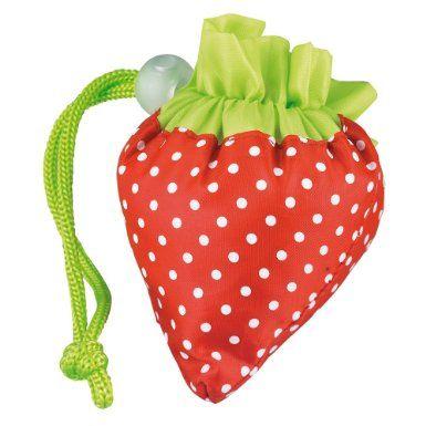 Einkaufsbeutel Erdbeere