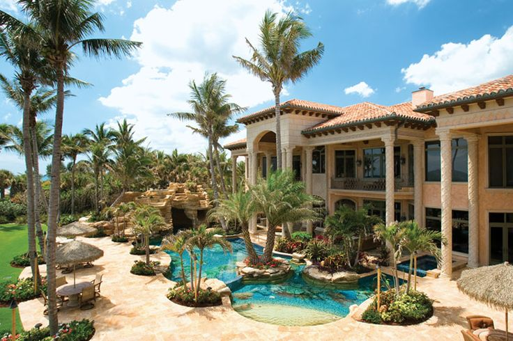 Opulent 33,000 Square Foot Oceanfront Mega Mansion In North Palm Beach, FL