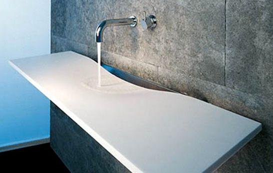 Beautiful washplane sink