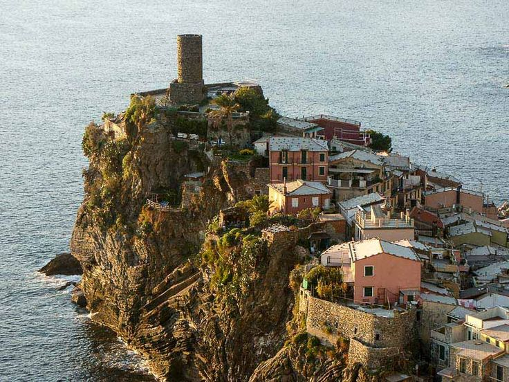Hiking the scenic trails of the Cinque Terre along the Italian Riviers is one of the most popular tourist activities in Italy, see our hiking map for…