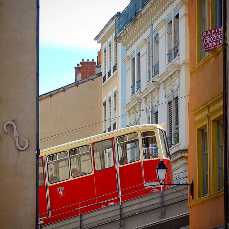 Vieux Lyon (Funiculaire F2)  Find Super Cheap International Flights to Marseile, France ✈✈✈ https://thedecisionmoment.com/cheap-flights-to-europe-france-marseille/