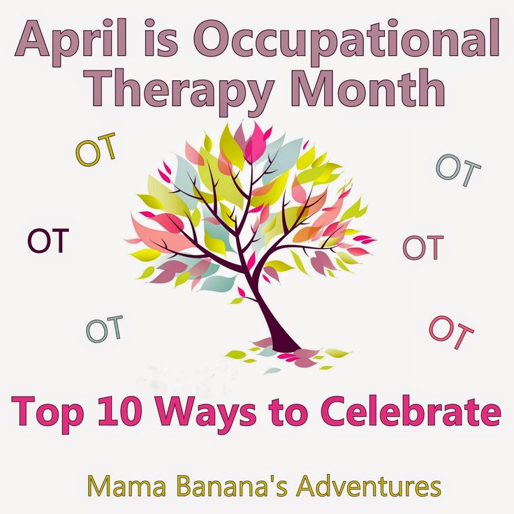 April is Occupational Therapy Month- Repinned by PT Solutions. Follow us at https://www.pinterest.com/myptsolutions/