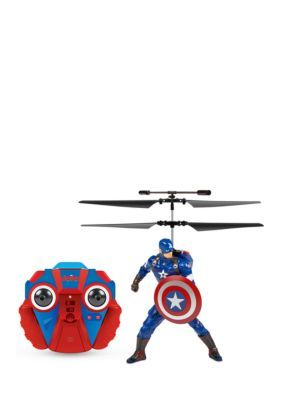 World Tech Toys Marvel Licensed Avengers: Age Of Ultron Captain America 2Ch Ir Rc Helicopter - No Size:Blue - No Size