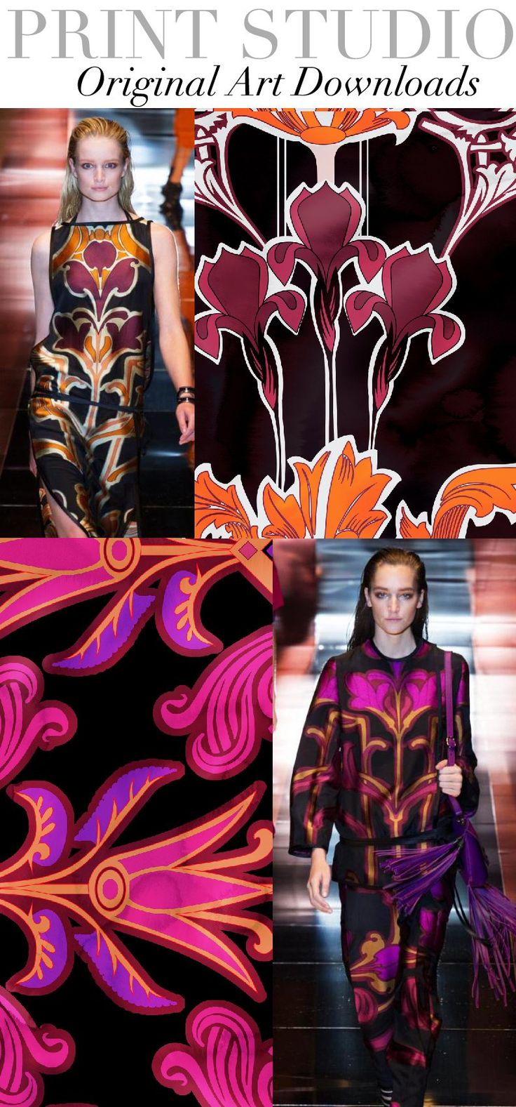 TREND COUNCIL- SS 2014 PRINT DIRECTION
