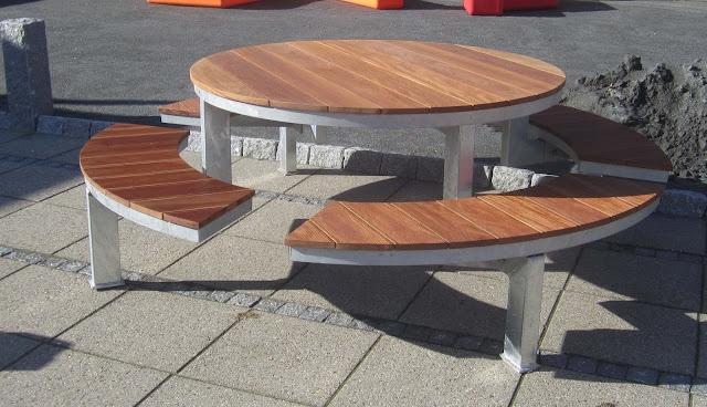 Bænkebord, model Hornsyld
