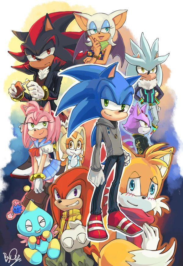 92 best images about sonic on pinterest shadow the - Sonic et shadow ...