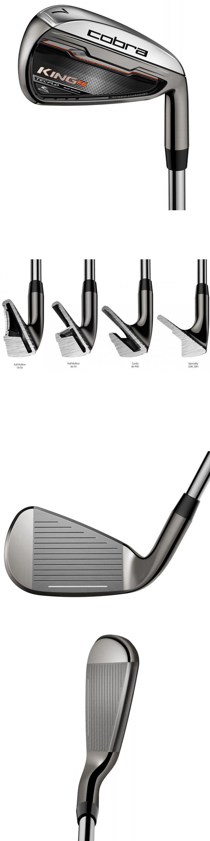 Golf Clubs 115280: Cobra King F6 Irons-- Choose Set Make Up, Hand, Shaft And Flex -> BUY IT NOW ONLY: $284.05 on eBay!