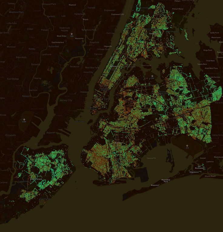 MIT'e (Massachusetts Institute of Technology) bağlı bir araştırma grubu olan Sensable City Lab'in, Dünya Ekonomik Forumu işbirliği ile hayata geçirdiği Treepedia projesi,   #Sürdürülebilir çevre #Yeşil